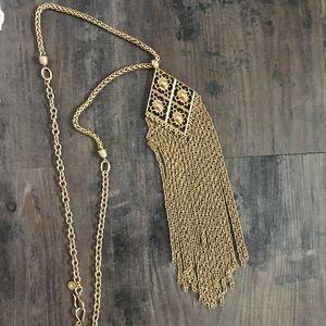 Stella & Dot Fringe Makena Necklace